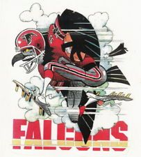 Nfl Football Helmets, Falcons Football, Football Art, Vintage Football, Atlanta Falcons Team, Sports Art, Nfl Sports, Sports Teams, Jack Davis