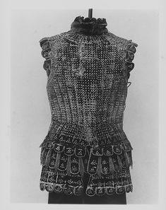 Brigandine Date: ca. 1500 Culture: Italian Medium: Steel, textile Classification: Coat of mail and plate
