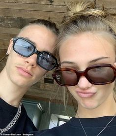Cute: Romeo Beckham pined for girlfriend Mia Regan as he shared a throwback snap via Insta. Relationship Goals Pictures, Cute Relationships, Cute Couple Pictures, Friend Pictures, Couple Pics, Cute Couples Goals, Couple Goals, Boy Best Friend, The Love Club