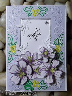 3D Floral Card Scrapbook Cards, Scrapbooking, Cardmaking, Greeting Cards, Floral Card, Paper Crafts, Crafty, Frame, Card Ideas