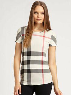 Burberry Jersey Tee on shopstyle.com.au  #fashion #tee