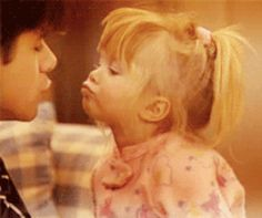 <b>It may have been a <i>Full House,</i> but these two only had eyes for each other.</b>