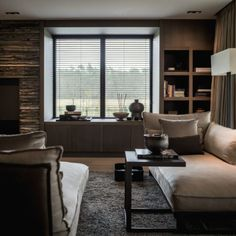 Marcel Wolterinck Culimaat woonkamer - warme kleuren