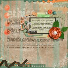 Artsy Journal Templates 3 by Scrapping with Liz Carry On Artisan Bundle by Tracie Stroud