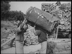 Portugal. Cork harvesting, processing and use 60 years ago.    www.takeportugal.com
