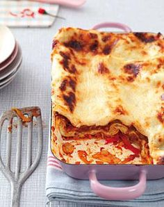Rezept: Scharfe Gemüse-Lasagne