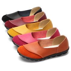 3a77cdfc7a3eb Big Size Color Match Soft Comfy Ballet Pattern Casual Flat Shoes is cheap  and comfortable. There are other cheap women flats and loafers online  Mobile.