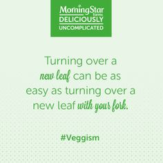 We've got a few things to say about eating green. #veggism