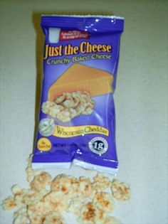 http://carbessentials.myshopify.com/products/just-the-cheese A delicious, airy snack that first crunches, then melts in your mouth. It's a good source of calcium and protein, but has ONLY ONE GRAM OF CARBOHYDRATES per serving. NO REFRIGERATION REQUIRED. Available in Cool Ranch, Grilled Cheese, Jalapeno & Cheddar, Nacho Cheese, Pizza, White Cheddar, Wisconsin Cheddar.
