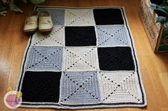 Virkattu Moppari matto |
