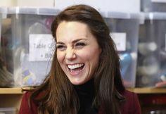 Kate Middleton En Visite Au Centre MIST 31