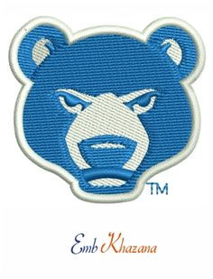 South Bend Cubs Logo embroidery design