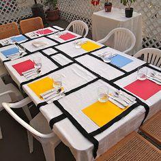 fabulous! Piet Mondrian homage..
