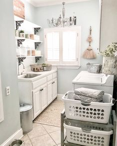 Shop My Home | Bless This Nest Laundry Room Colors, Room Paint Colors, Laundry Room Design, Paint Colors For Home, Small Laundry Rooms, Laundry Room Organization, Organization Hacks, Farmhouse Laundry Room, Farmhouse Style