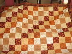 guest book quilts
