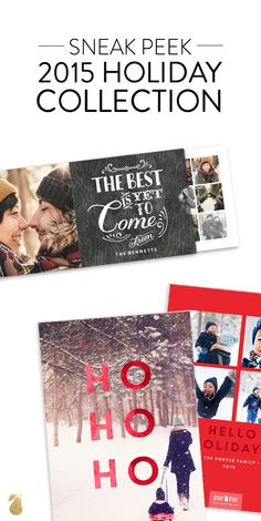 Sneak a peek at our NEW holiday collection! You'll love browsing are unique and innovative designs. #christmasCards #christmas