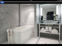 Waterworks Bathroom  The Surrey Hotel - New York City