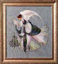 Ice Angel (cross stitch) (Special Order)