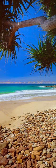 The back beaches of Coolum offer some great surfing and places to cool off over the summer months.Sunshine Coast, QLD