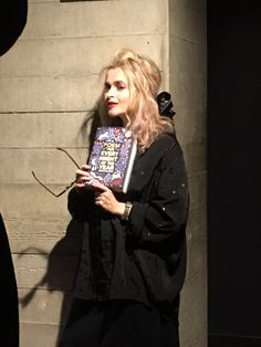 Helena Bonham Carter at the event of 'A Poem for Every Night of the Year' in London | 25/11/16.