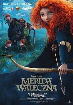 Merida Waleczna (Brave) Disney/ Pixar, w kinach od 17 sierpnia!
