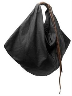 7c3718101e4 Alternative Apparel waxed cotton draped bag woven leather detail   13  Bag  Making,