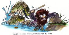 Google Image Result for http://media.giantbomb.com/uploads/14/149798/2297407-carp_escape.jpg   Carp are very deadly monsters of evil.....