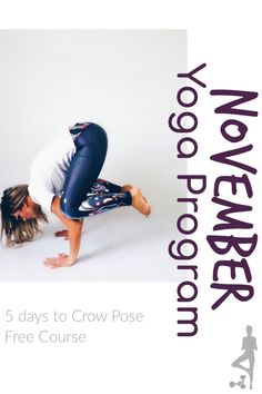 Free yoga program to help get you to crow pose free yoga videos, crow pose You Fitness, Fitness Tips, Healthy Recipes Dinner Weightloss, Free Yoga Videos, Crow Pose, Healthy Mind And Body, Improve Flexibility, Yoga Lifestyle, Yoga Challenge