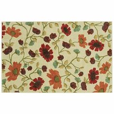 Urban Styles Cora Floral Rug - 20'' x 36''