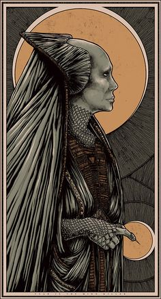 """Fear is the mind killer"". Bene Gesserit - either the Heirophant or the High Priestess...."