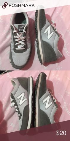 New balance 501 Light and dark grey new balance 501's are so comfy but just a little too big for me. Only worn a few hours. No signs of wear. Like brand new New Balance Shoes Athletic Shoes
