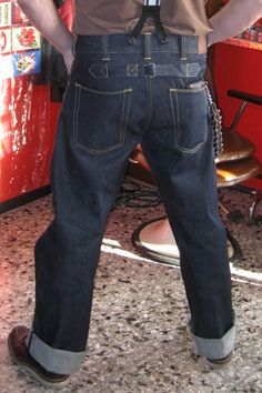 pike brothers chopper jeans - Google Search