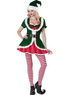 Adult Christmas Men/'s Elf Cosplay Costume Outfit Xmas Party Fancy Dress one Size