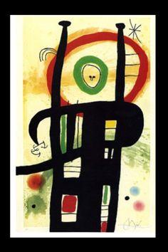 "Joan Miró - ""Le grand ordonnateur"", 1969 - Etching, aquatint and Carborundum - 105,2 x 68,1 cm (*)"