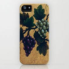 """Tuscan grapes"" iPhone & iPod Case by Precision Studio by Theresa Somerset - $35.00"
