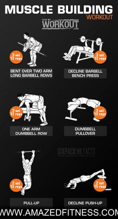 #Muscle   Building #Workout   - #Back  #Chest   Back #Arms   Full Body Routine ...#fitness #exercise #bodybuiling