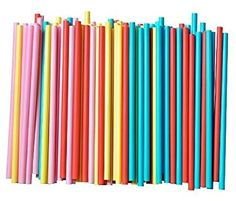 Amazon.com: Assorted Colors Smoothie Straws, Pack of 100 Pieces (pack of 1, multi): Kitchen & Dining