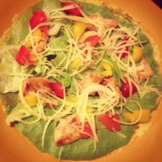 Fajitas #cuisine #food #faitmaison #poulet #tortillas #poivron #tomate #guacamole #instafood #français #salé #homemade