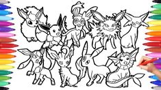 Pokemon Eevee Evolutions Coloring Pages Coloring Book Eevee Evolutions Coloring Pages Free Pikachu And. Pokemon Eevee Evolutions Coloring Pages Colori. Mothers Day Coloring Pages, Easter Coloring Pages, Halloween Coloring Pages, Online Coloring Pages, Cool Coloring Pages, Coloring Pages To Print, Free Printable Coloring Pages, Coloring Books, Pokemon Coloring Sheets