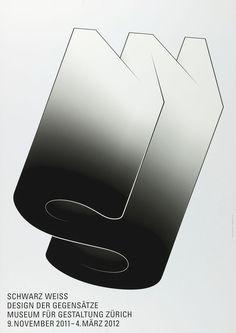 Schwarz Weiss – Design der Gegensätze - 100 Beste Plakate e. V.