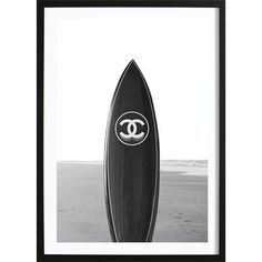 Wallified - Black Chanel Board Poster (50x70cm) Chanel, Print Poster, Home Deco, Art Direction, Interior Inspiration, Surfboard, Living Room Decor, Boards, Posters