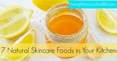 Did you know your kitchen is stocked with natural skincare products? Try these…