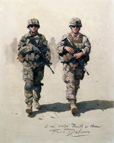 Spanish soldiers in Afghanistan