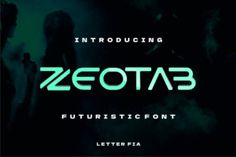 Zeotab is a futuristic and minimalist display font. This font is ideal for writing web designs, business cards, or pretty... Typography, Lettering, Modern Fonts, Premium Fonts, All Fonts, Improve Yourself, Web Design, Writing, Futuristic