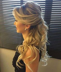 44 Easy Formal Hairstyles For Long Hair To make a huge sha., 44 Easy Formal Hairstyles For Long Hair To make a huge sha. Formal Hairstyles For Long Hair, Wedding Hairstyles, Easy Hairstyles, Latest Hairstyles, Hairstyle Ideas, Popular Hairstyles, Hair Ideas, Elegant Hairstyles, Bridesmaids Hairstyles Down