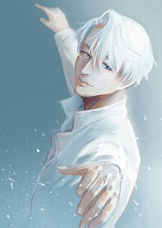 sorry if your feed is filled wih this series ^^'' - Victor Nikiforov - Yuri! on Ice by ビスコッティ on pixiv (id: I Love Anime, Anime Guys, Manga Art, Anime Manga, Yuri On Ice Victor, Shonen Ai, Victor Nikiforov, Yuri Katsuki, ユーリ!!! On Ice