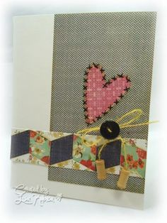 Love you to Pieces #2 by Lisa Ku - Cards and Paper Crafts at Splitcoaststampers
