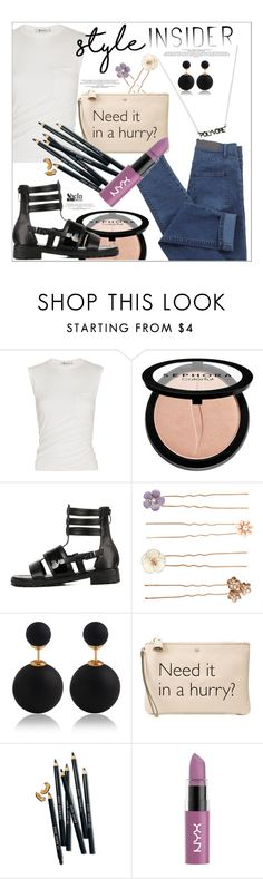 """Style Insider"" by mycherryblossom ❤ liked on Polyvore featuring Alexander Wang, Sephora Collection, Accessorize, Anya Hindmarch and Bobbi Brown Cosmetics"