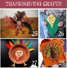 36 Thanksgiving Activities and Kids Crafts - Tip Junkie
