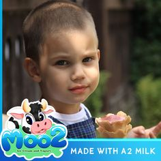 Whether you're looking for ice cream or yogurt, Moo2's range of pure dairy products is deliciously fresh and only made with A2 milk completely free of A1 protein.  #A2 #a2Milk #Milk #IceCream #Yogurt #Dessert